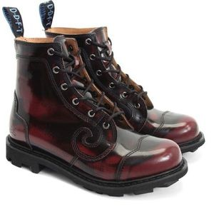JOHN FLUEVOG men's leather boots